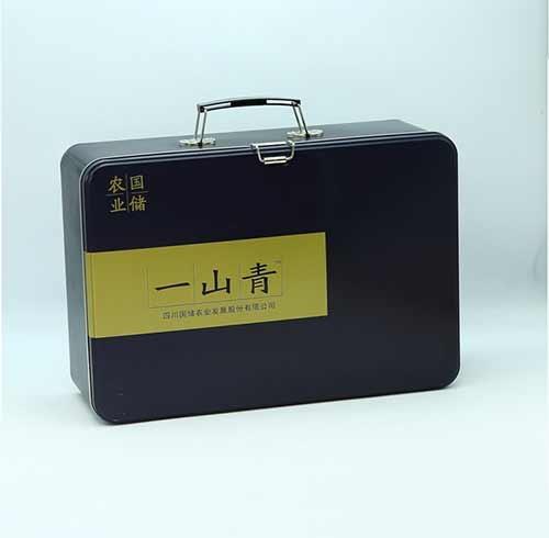 成都包装公司与某公司合作的马口铁罐包装案例