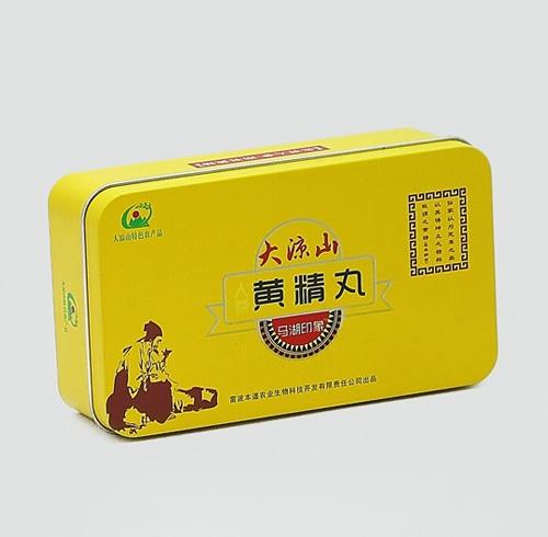 与某公司合作的保健品马口铁罐包装