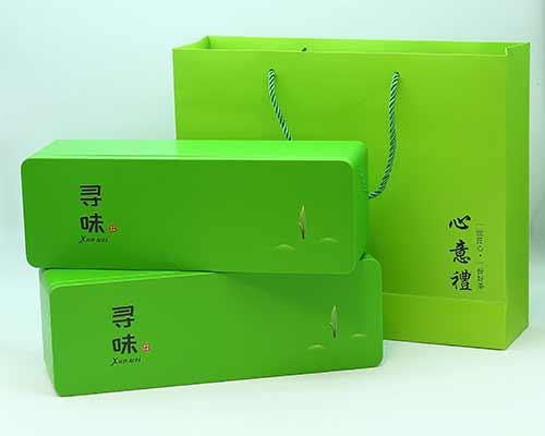 长方形茶叶铁罐